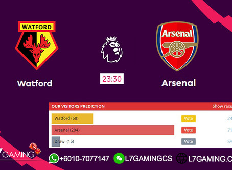 15 SEPTEMBER 2019  English Premier League : Watford vs Arsenal