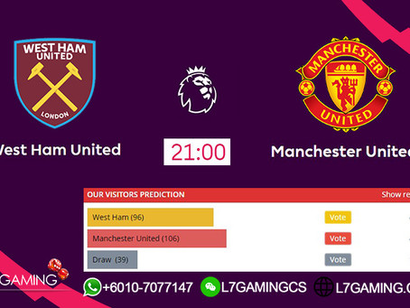 22 SEPTEMBER 2019 West Ham United vs Manchester United