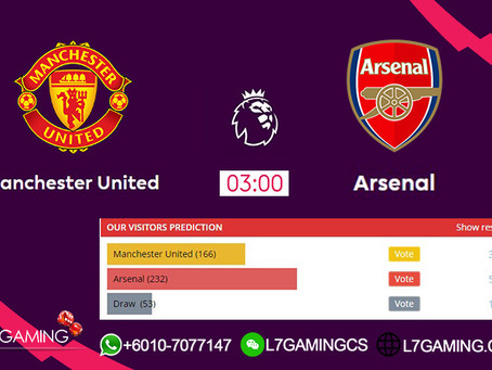 01 OCT 2019 English Premier League : Manchester vs Arsenal