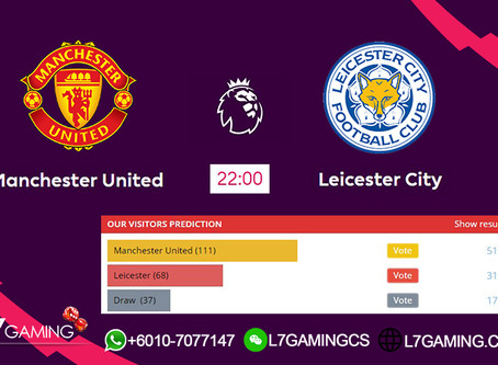 14 SEPTEMBER 2019 English Premier League : Machester vs Leicester
