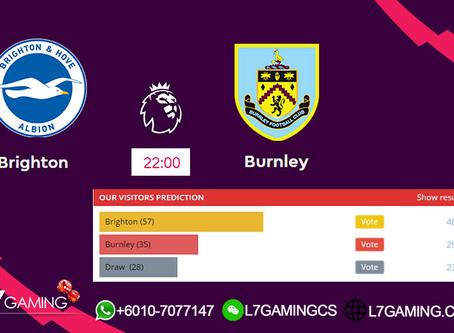 14 SEPTEMBER 2019 English Premier League : Brighton vs Burnley