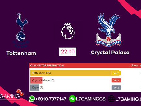 14 SEPTEMBER 2019 English Premier League : Tottenham vs Crystal
