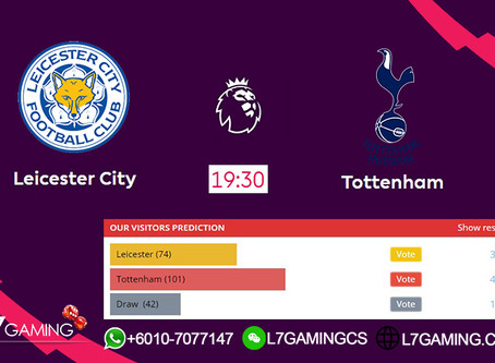 21 SEPTEMBER 2019 English Premier League : Leicester vs Tottenham