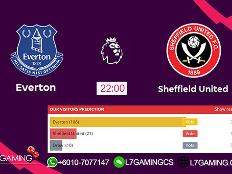 21 SEPTEMBER 2019 English Premier League : Everton vs Sheffield