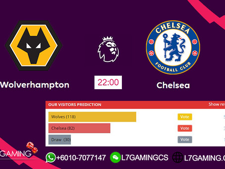 14 SEPTEMBER 2019 English Premier League : Wolverhampton vs Chelsea
