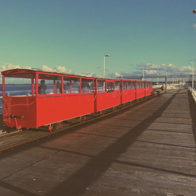 Train on Jetty