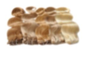 Various colors of clip in body wave huma