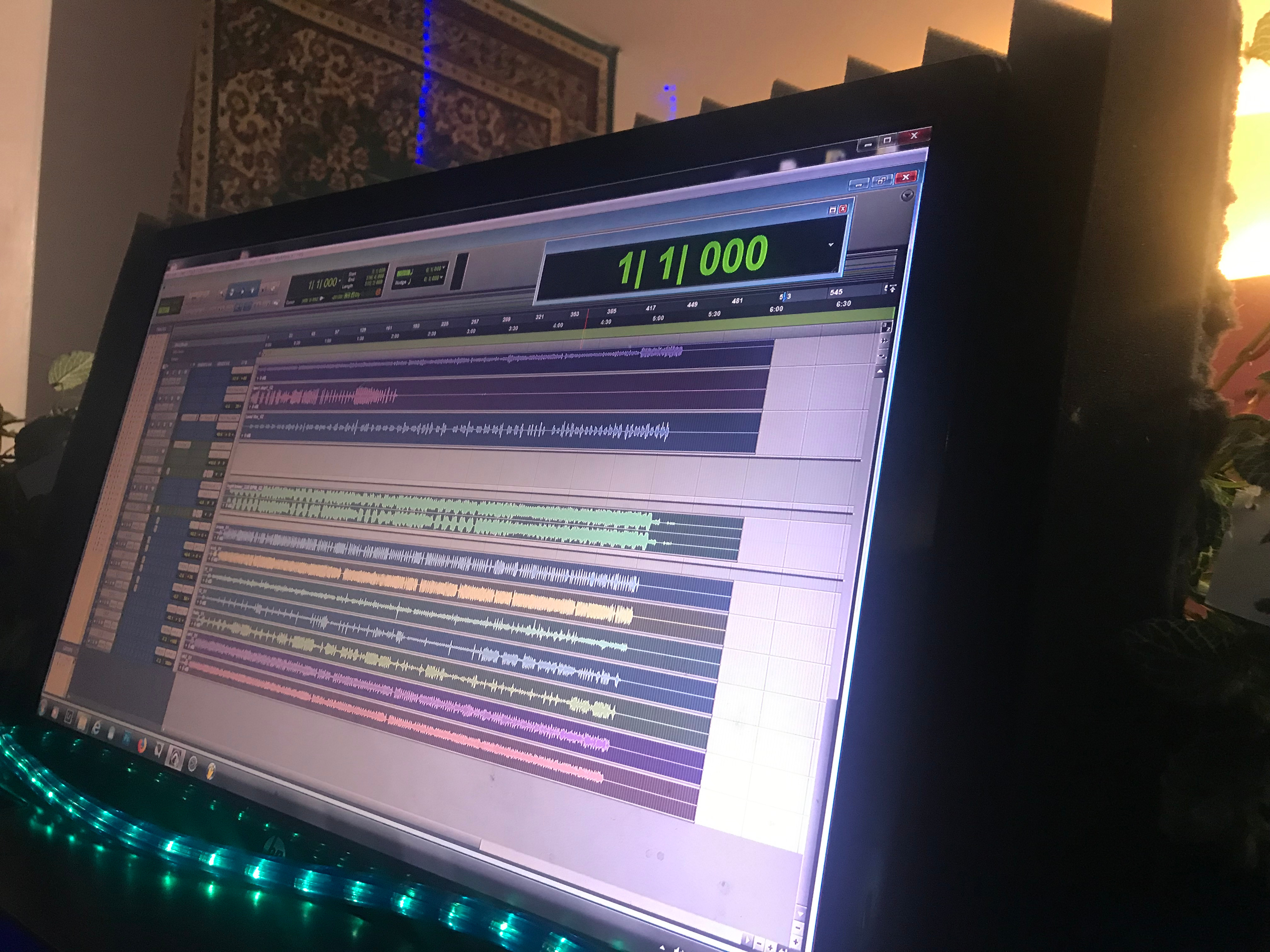 1 Hour Recording Session