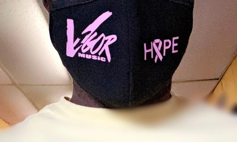 Hope Face Mask (Breast Cancer Awareness)