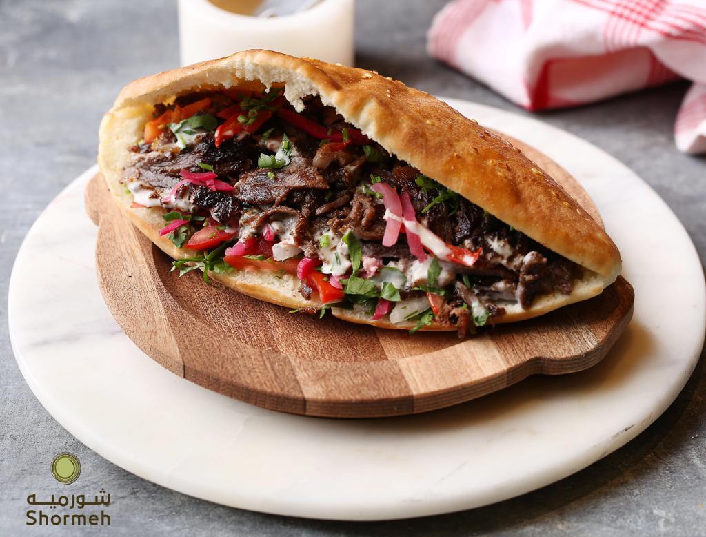 شورميه يالخبز الطازج