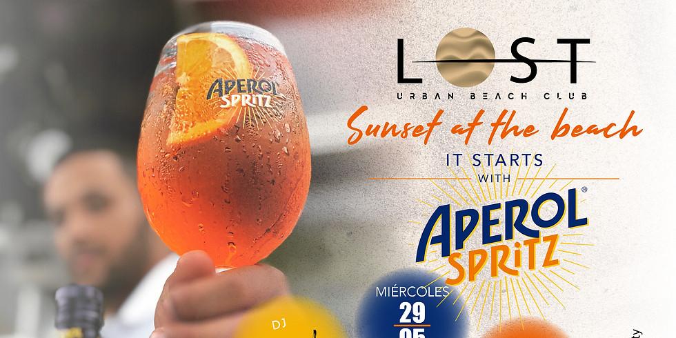 It starts with APEROL SPRITZ !