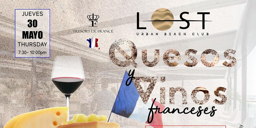 Lanzamiento: Quesos y vinos franceses