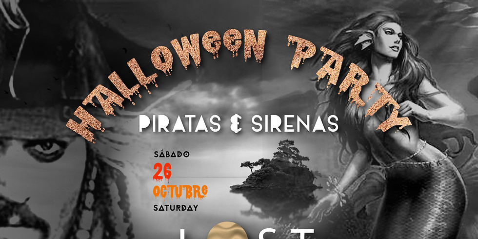 LOST Halloween Party at the haunted beach!!!
