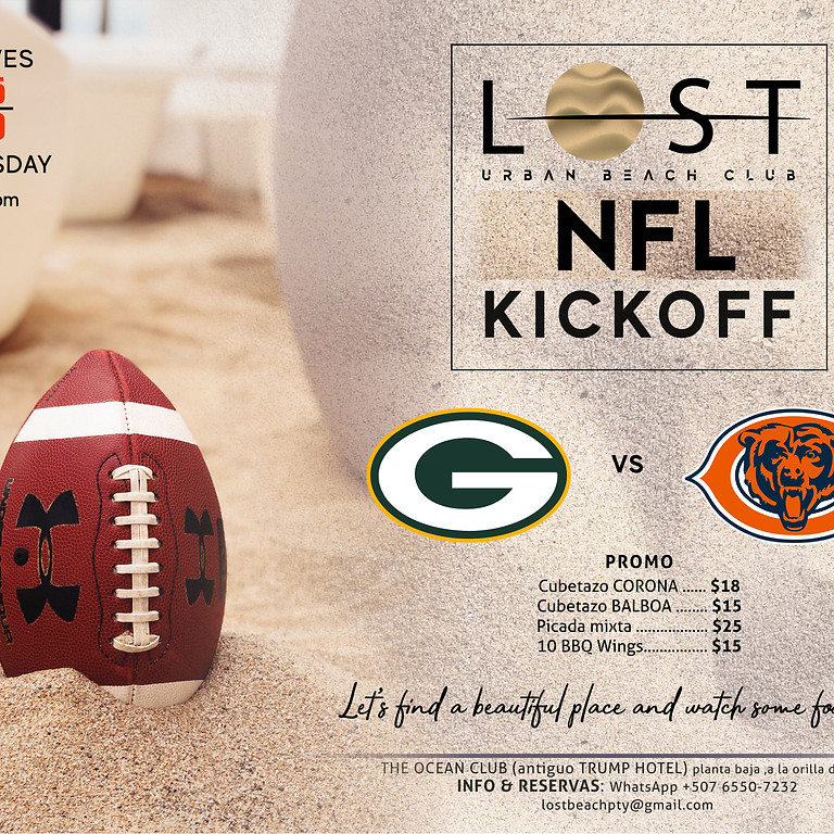 NFL KICKOFF GAME !!!