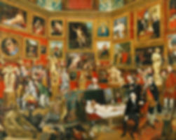 Johan Zoffany - Tribuna of_the_Uffizi -
