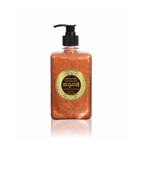 SULTANI OUD LIQUID SOAP 17OZ 500ML
