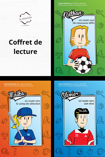 Coffret de lecture (3 livres)