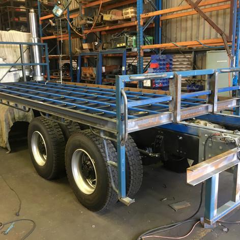 TCA supply and build heavy duty tray bodies