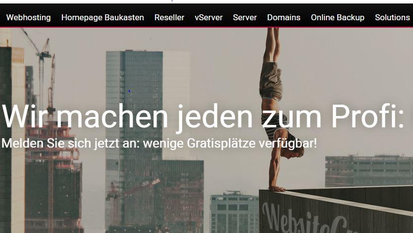 Eigene Webseite