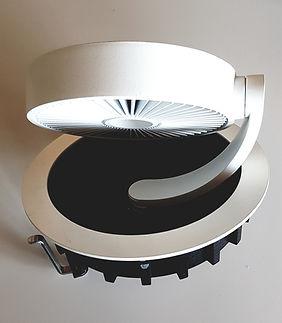 Einbauleuchte Disc-S-EVO LED, Vorschaltgerät Nicht inklusive, Eifach-Luege.ch