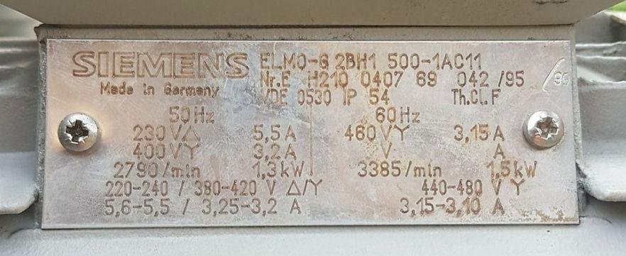 Seitenkanal Gebläse Elmo G2BH1-500, Eifach-Luege.ch