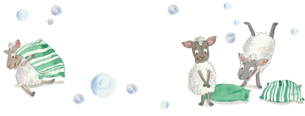 Kresba z dětské knihy Dováděník
