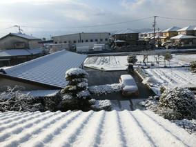 二度目の冠雪