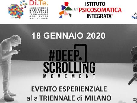 Deep Scrolling Experience -Come Viversi nel Digitale