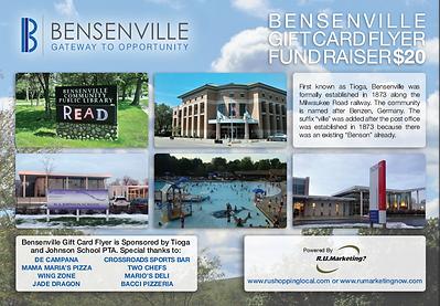 fund raiser cards