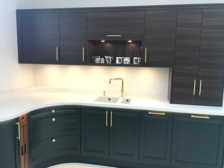GREEN KITCHEN BY STONEHAM, FROM SOMERVIL