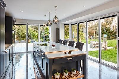 Somerville luxury kitchens, Jersey. Ston