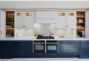 Stoneham Blue, Aspen kitchen, available