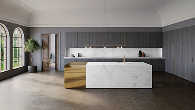 5151_Empira White Caesarstone worktops f
