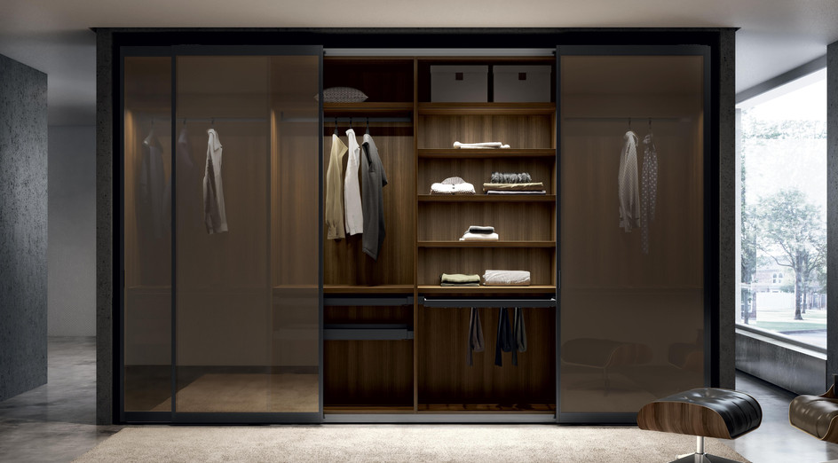 Fitted wardrobes by Somerville Limited J