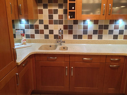 Replacement worktops from Somerville kit