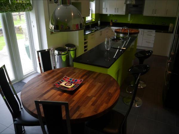 Walnut kitchen table from Somerville lim