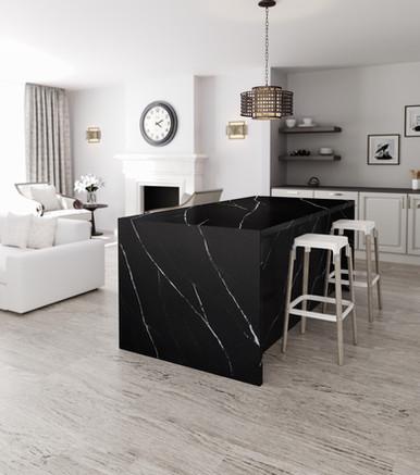 Silestone Kitchen - Eternal Marquina (1)