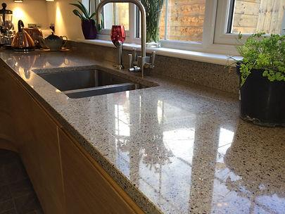 Radianz Quartz kitchen worktop by Somerv