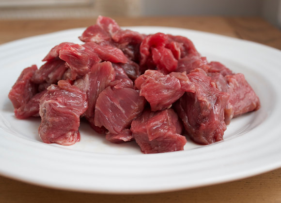 Diced Hereford Beef