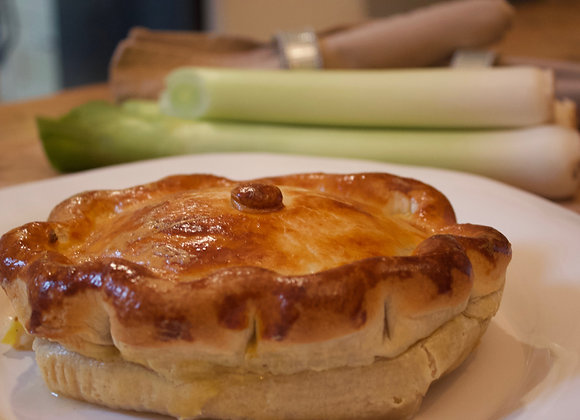 Chicken & Leek Pie