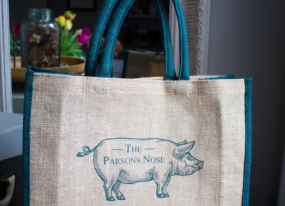 Jute The Parsons Nose Tote bag