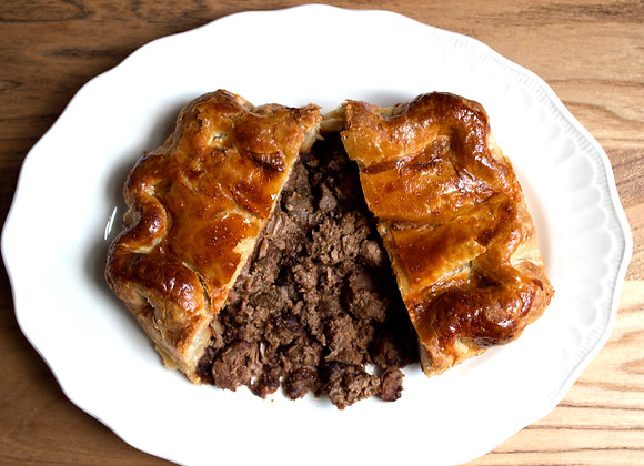 Venison & Red Wine Pie