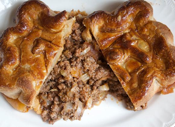 Beef & Onion Pie