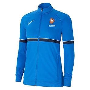 NIKE ACAD 21 WOMENS TRACK TOP IN ROYAL -