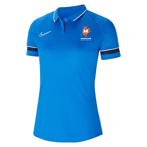 NIKE ACAD 21 WOMENS POLO IN ROYAL - Copy