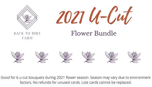 2021 U-Cut Flower Bundle