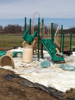 Grass Lake Play structure