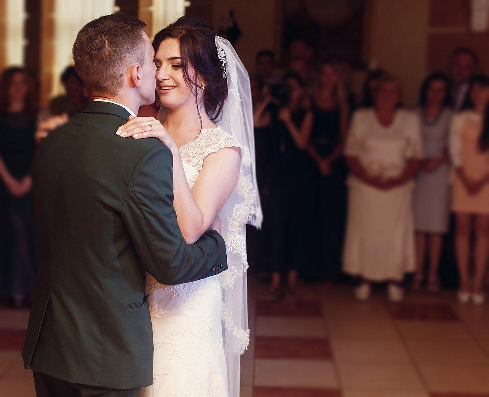 groom-and-beautiful-happy-bride-first-da