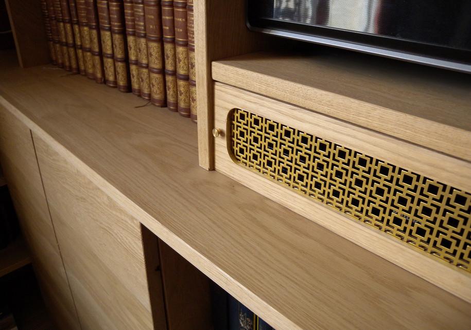Detail - brass