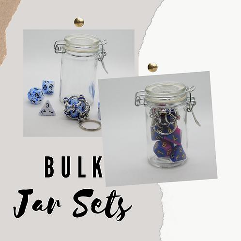 25pc Bulk Jar Dice Sets